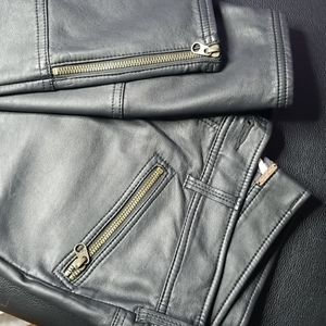 Faux leather Free People pants